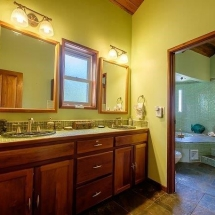 View of Master Bath and Shower