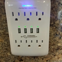 usb charging station, extra little touches